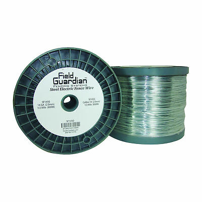 Field Guardian 14 Ga Galvanized Steel Wire 12 Mile Usa Sf1450 814421011855