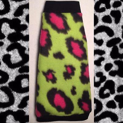 Pink Cheetah Fleece
