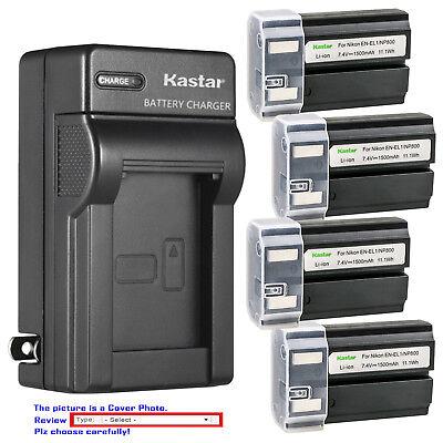 Kastar Battery Travel Charger for Nikon EN-EL1 MH-53 & Nikon Coolpix 5700 Camera