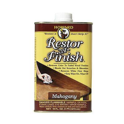 Howard Products RF5016 Restor-A-Finish, 16 oz, Mahogany