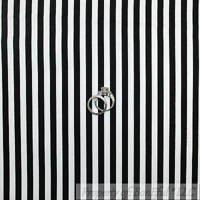 BonEful Fabric Cotton Quilt Black White B&W STRIPE Xmas Jail Boy Holiday 1 - Jail Dog Costume
