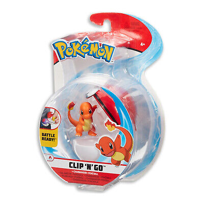 Wicked Cool Toys Pokemon Clip N Go Charmander Set NEW IN STOCK