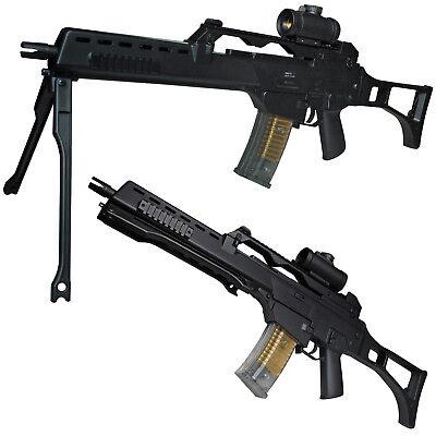 BGS M41K2 Softair Gewehr inkl. Leuchtvisier & Zubehör 6 mm <0,5 Joule