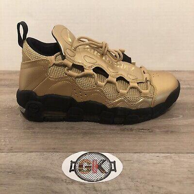 Gold Nike Sneakers - Men's Nike Air More Money Sneakers Uptempo Metallic Gold AJ2998 700