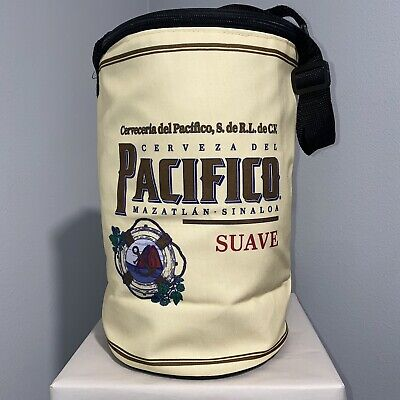Pacifico Suave Insulated Cooler Bag With Zipper And Carry Strap, Pacifico Beer