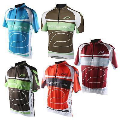 Protective Matthew Herren Fahrrad Trikot Kurzarm Jersey Rad Sport Shirt Tasche
