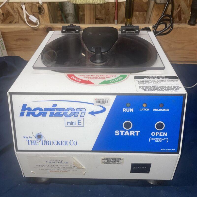 Horizon The Drucker Co. Mini E Centrifuge 6 Spinners Excellent Condition