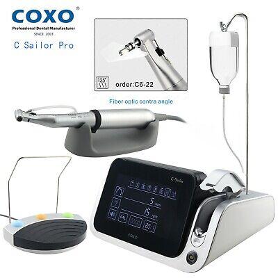 Coxo Dental Fiber Optic 201 Contra Angle Brushless Implant Motor C Sailor Pro