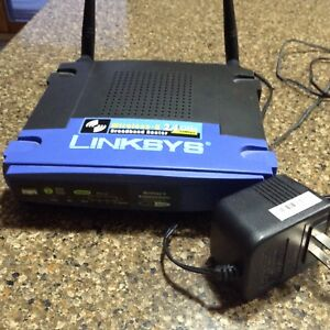 Linksys Wireless-G 2.4 GHZ Broadbend Router