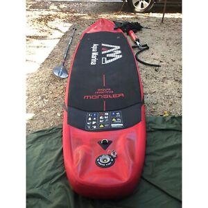 Inflatable SUP. 2 person capacity. Aquamarina Monster