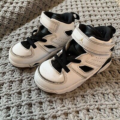4a90f85a127 7C Nike Infant & Toddler's Air Jordan FLIGHT CLUB '91 BT Shoes AO2672-121  EUC
