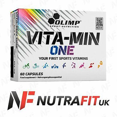 OLIMP VITA-MIN ONE multiple sport vitamin mineral complex ginseng vit zinc iron