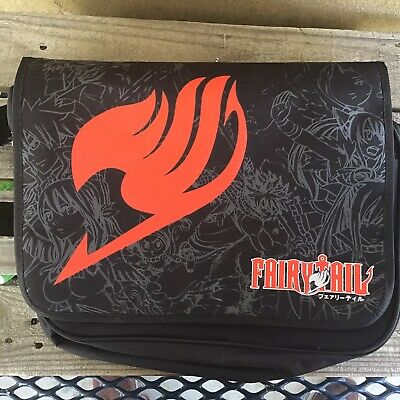 Fairy Tail Bag (EUC Anime Fairy Tail Messenger Bag Laptop Shoulder Bag Crossbody - USA)