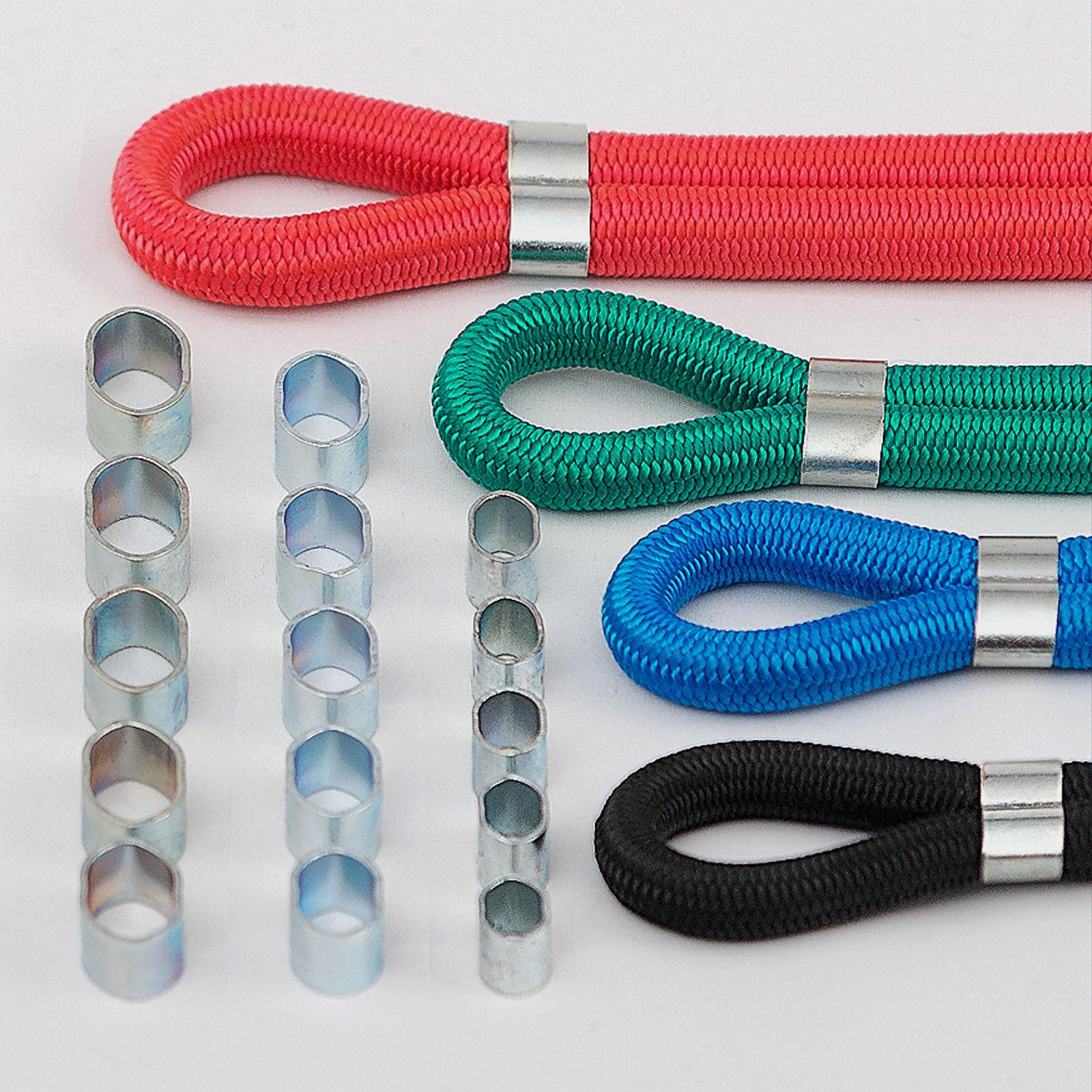 Würgeklemmen für Gummiseil Expander Polypropylenseil Leine  6  8  10 mm