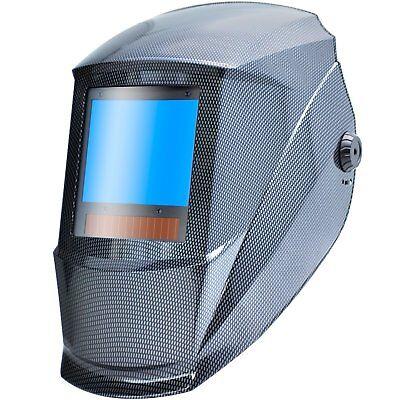 Antra™ AH7-X90-001X Solar Power Auto Darkening Welding Helmet Shade 4/5-9/9-13