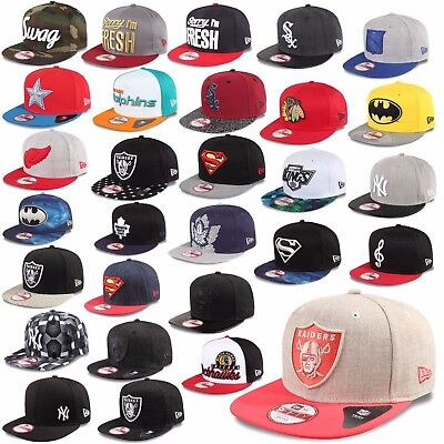 New Era Cap Snapback 9Fifty New York Yankees Batman Superman Sox Raiders