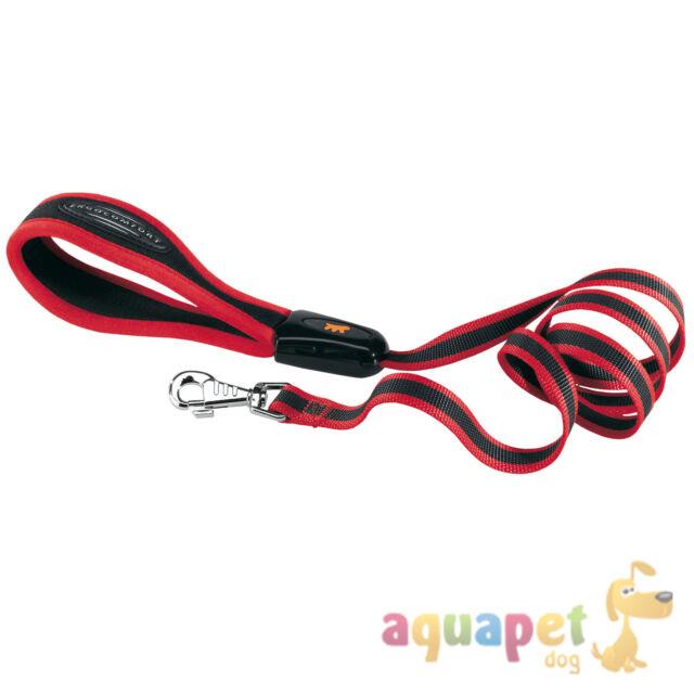 Ferplast Ergocomfort Linear Dog Lead Red Various Sizes