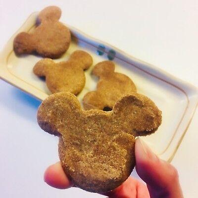 Homemade Peanut Butter & Banana Dog Treats Cookies 2.5 oz Handmade Dog Peanut Butter Cookies