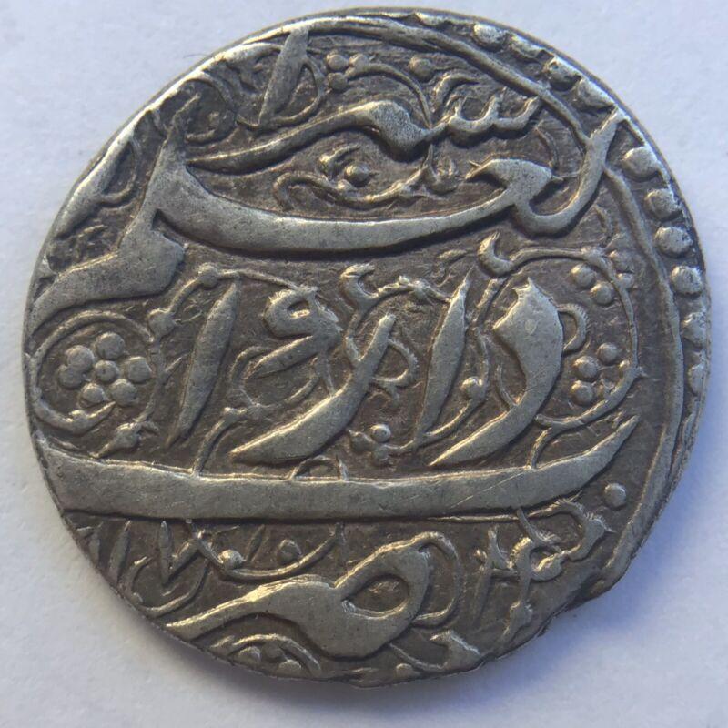 ISLAMIC ZEND Karim Khan 1166-1193AH Silver AR Abbasi mint Ya zd 1179AH (4.64g)XF