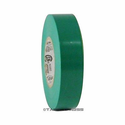1 Roll Green Vinyl Pvc Electrical Tape 34 X 66 Flame Retardant Free Shipping