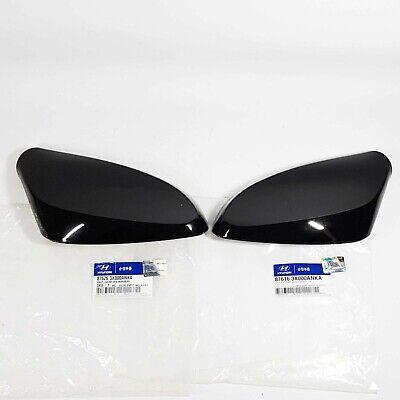 Side Mirror Cover Garnish Black Left Right 2EA For HYUNDAI ELANTRA MD 2011-2014