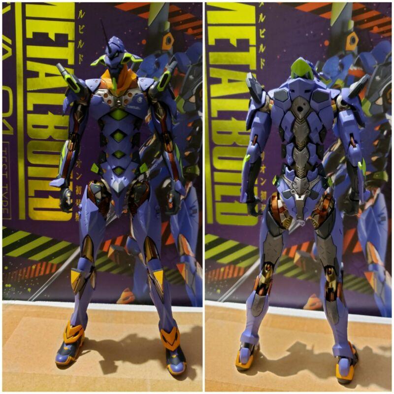 Bandai Metal Build Eva-01 Test Type Evangelion Action Figure