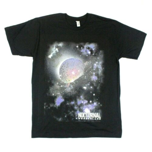 Insomniac Nocturnal Wonderland Disco Planet Tee - Alstyle - Black - M