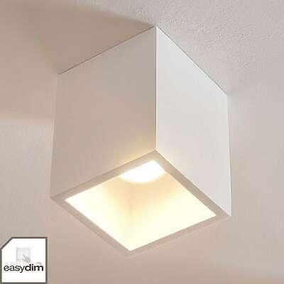 LED Deckenlampe Paulina Geschwungen Verspielt Lampenwelt LED Deckenleuchte Glas