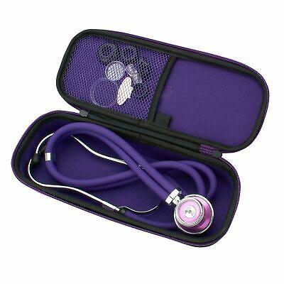 Sprague Rappaport Stethoscope Dual Head Adult Lightweight Storage Case Bag