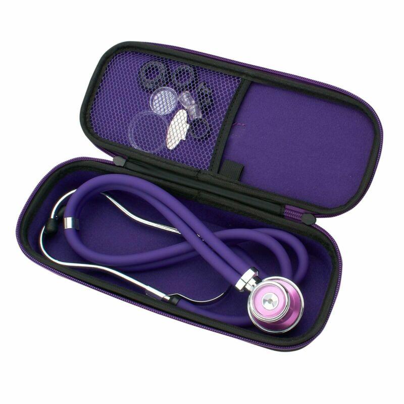 Sprague Rappaport Stethoscope Dual Head Adult + Lightweight Storage Case Bag
