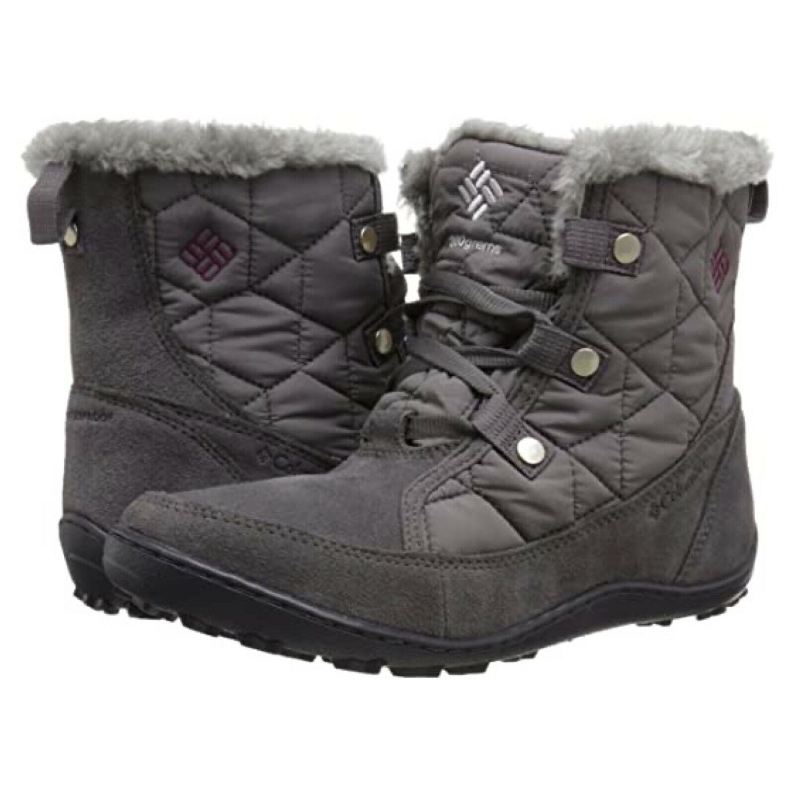 COLUMBIA MINX SHORTY OMNI-HEAT BOOTS WOMEN'S ANKLE WATERPROO