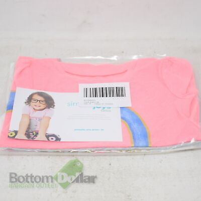 Simple Joys By Carter's Toddler Girl's 3-Pack Graphic Tees Pink/Grey/White (2T)