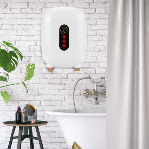 6500W Durchlauferhitzer Elektro Warmwasser Tankless Instant Heizung Bad Küche