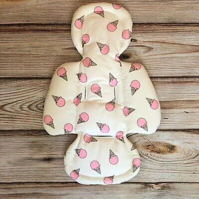 Ice Cream Cone Handmade Newborn Insert in mamaRoo rockaRoo 4moms Infant Seat