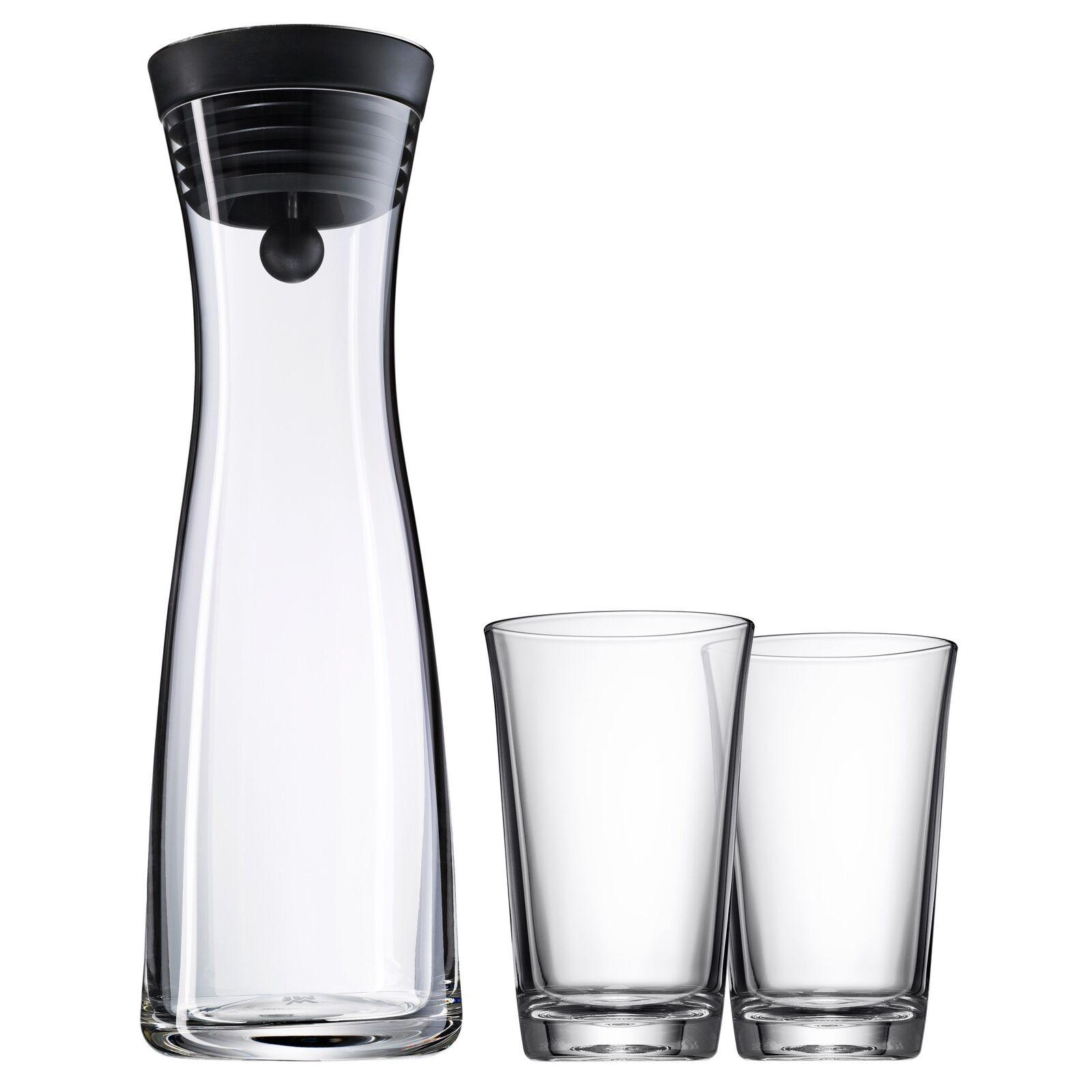 WMF Wasserkaraffe mit 2 Wassergläsern a 0,25 l