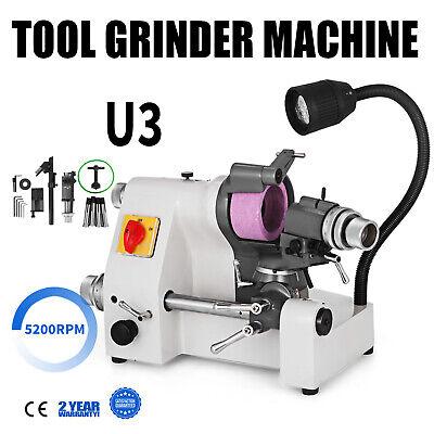 U3 Universal Tool Cutter Grinder Machine Sharpener Low Noise 100mm