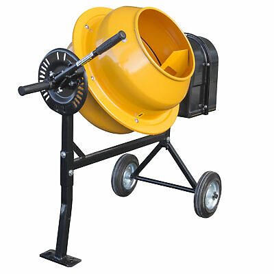 Pro-series 1.25 Cubic Foot Electric Cement Mixer