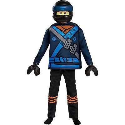 Neu LEGO Kostüm LEGO Ninjago Jay Movie Deluxe, 5-tlg. 6846676
