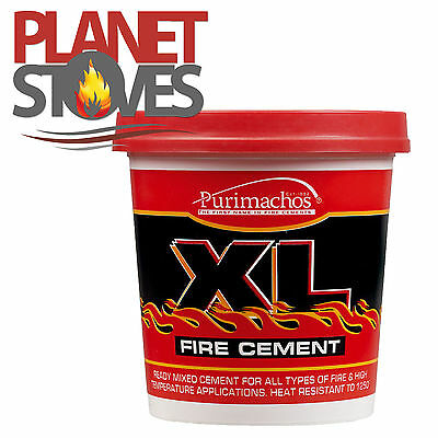 Ready Mixed Fire Cement For Flue Pipe Seals Wood Burning Stove & Furnaces