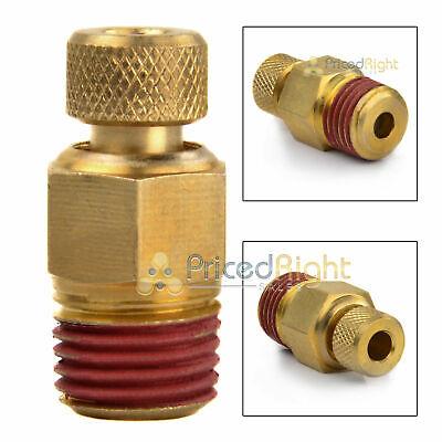 Air Compressor Moisture Tank Drain 14 Male Npt Water Petcock Brass