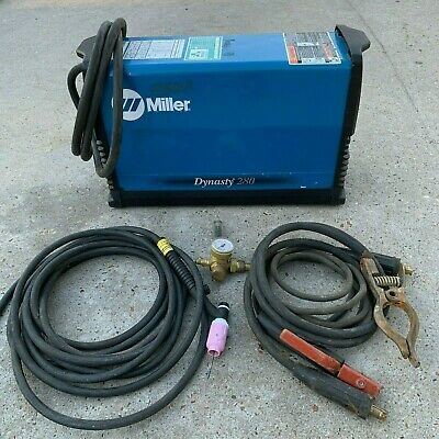 Miller Electric Dynasty 280 Tig Welder 208 To 575v W Leads Welding 907550