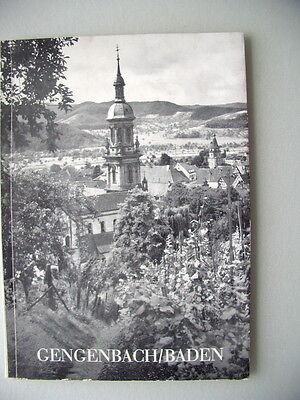 Gegenbach Baden 1. Auflage 1951 Führer durch die ehemalige freie Reichsstadt