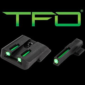 New Truglo TFO Tritium/Fiber-Optic Day/Night Sights Smith and Wesson M&P Set