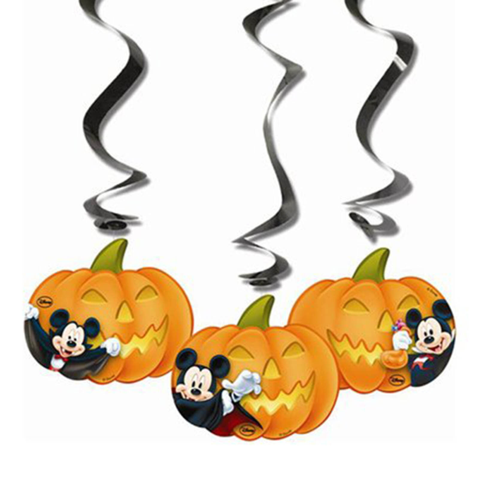 Halloween Mickey Mouse and Friends Hanging Decorations | Halloween ...
