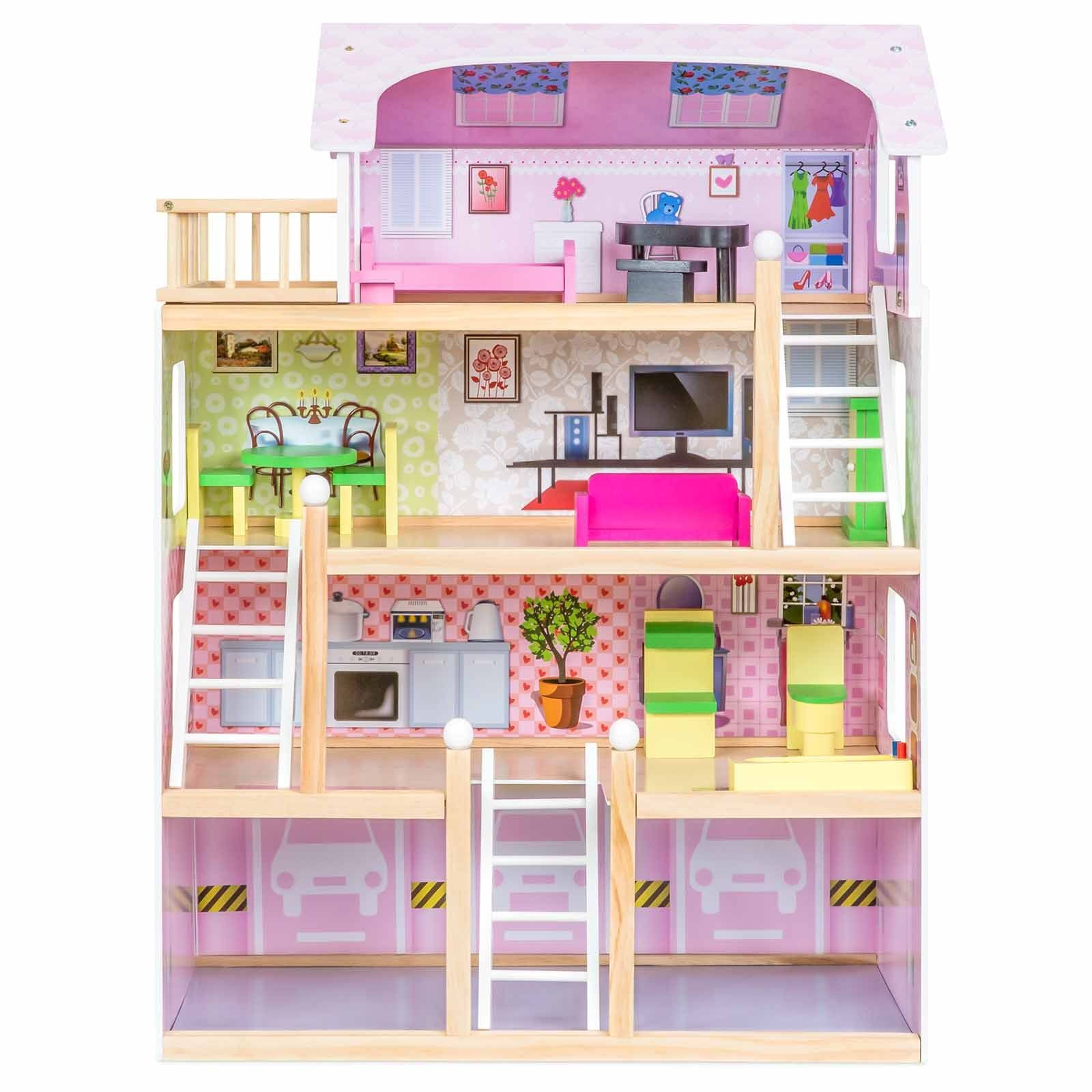 Kupit Barbie Dream House Size Dollhouse Furniture Girls Playhouse
