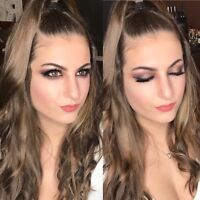 Makeup and/or hair . Prom , parties, weddings. $40+