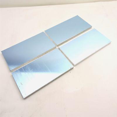 .5 Thick 12 Precision Cast Aluminum Plate 4.125x 8 Long Qty 4 Sku175325