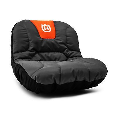 """Husqvarna Tractor Riding Lawn Mower Protective Cushioned Padded 15"""" Seat Cover"""