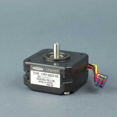 Minebea Astrosyn 17py-q202-03 Bipolar Stepper Motor .9step Robotics Automation