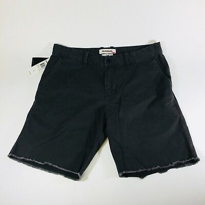 Quiksilver Mens Size 32 Gray NWT New Echo Chino Shorts